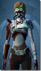 Voltaic Sleuth - Female Close