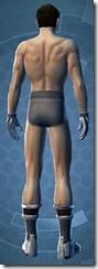 Peacewalker - Male Back