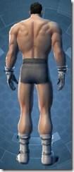 Warrior Captain - Male Back