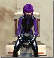 Cybermistress Sitting Front