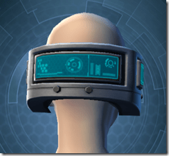 Cyborg Construct AM-7 - Female Back