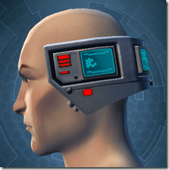 Cyborg Construct AM-7 - Male Left