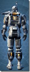 Energized Infantry - Male Back