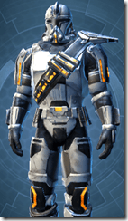 Energized Infantry - Male Close