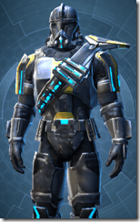 Galvanized Infantry - Male Close