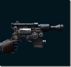 Partisan Field Medic's Blaster Pistol
