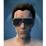 Stylish Defender's Goggles - Head