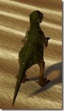 Verdant Raptor - Back