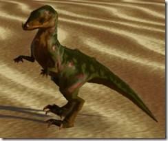 Verdant Raptor - Side