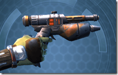 Hammer Outrunner's Blaster Pistol