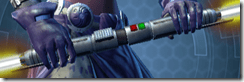 Dark Venerable Seeker's Double-bladed Lightsaber