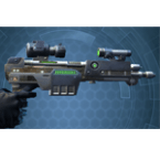 Improved Supercommando's Blaster Pistol*