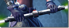 Principled Venerable Seeker's Double-bladed Lightsaber
