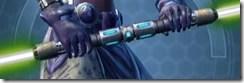 Sovran's Student Double-bladed Lightsaber