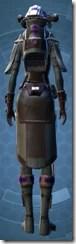 Energized Manhunter - Female Back