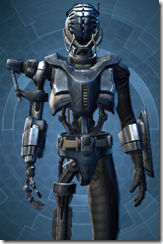 Series 917 Cybernetic - Male Close
