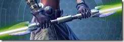 Sovran's Auger Double-bladed Lightsaber
