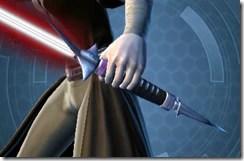 Primeval Vindicator's Lightsaber