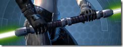 Principled Ancient Seeker's Double-bladed Lightsaber