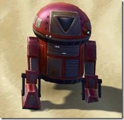 D6-S7 Astromech Droid - Front