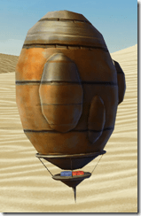 Model Tatooine Balloon - Side