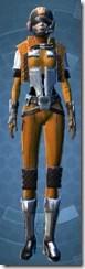 Republic Squadron Commander Pilot - Female Front