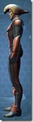 Vintage Republic Military Armor - Male Left