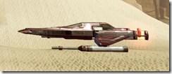 Model Redeemer Starfighter - Side