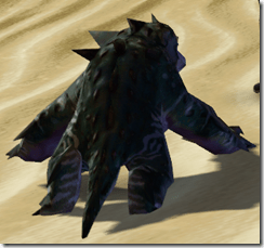 Swamp Kell Dragon - Back