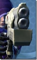 Interstellar Regulator's Blaster Aurek Front