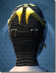 Glorious Charnel Mask - Female Back