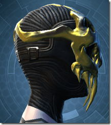 Glorious Charnel Mask - Female Right