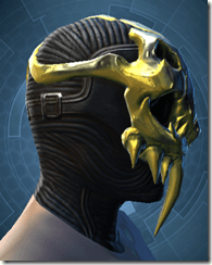 Glorious Charnel Mask - Male Right