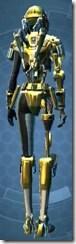 Series 79 Aureate Cybernetic - Female Back
