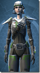 Ironclad Soldier - Female Close