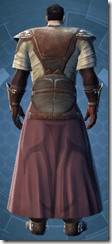 Ancient Ardent Blade Pub - Male Back
