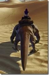 Jundland Dewback - Back