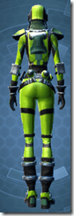 K-23 Hazmat - Female Back