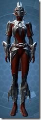 Brutalizer Inquisitor - Female Front