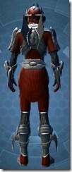 Brutalizer Inquisitor - Male Back