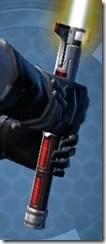 Dauntless Avenger's Lightsaber Back