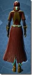 Dread Master Agent - Female Back