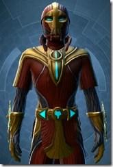 Dread Master Agent - Male Close
