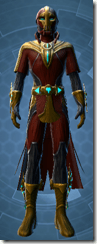 Dread Master Agent - Male Front