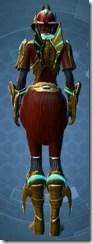 Dread Master Inquisitor - Female Back