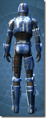 Mandalorian Hunter - Male Back
