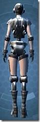 Series 858 Cybernetic - Female Back