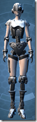 Series 858 Cybernetic - Female Front