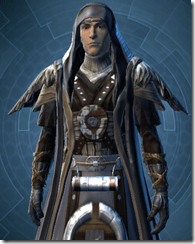 Tattered Ritualist - Male Clsoe Cowled