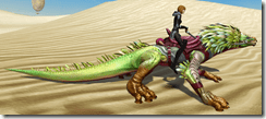 Armored Grassland Varactyl - Clipping